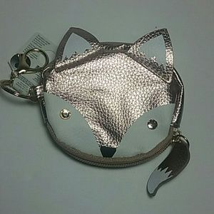 Other - Cute Fox wristlet with keychain